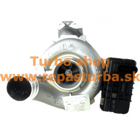 Mercedes-Benz E-Trieda 350 CDI (W212) Turbo 07/2010 - 12/2012