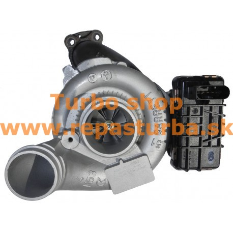 Mercedes-Benz M-Trieda 320 CDI (W164) Turbo 01/2005 - 12/2009