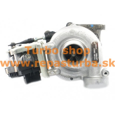 Mercedes-Benz M-Trieda 420 CDI (W164) Turbo 01/2006 - 01/2009